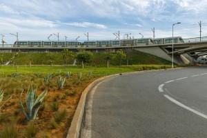 Espace verts Pont Hassan II