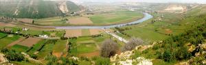 Vue  générale sur la vallée le Bouregreg