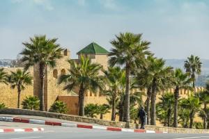 Muraille des Oudayas (Espaces verts)