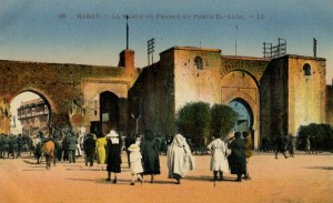 Rabat place de France et Port –El Alou