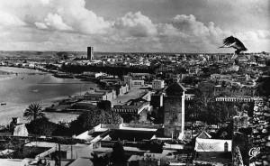Rabat Vue Geneale les oudayas et la Tour Hassan