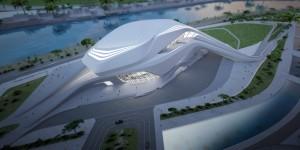 Vue globale « Grand Théâtre de Rabat »