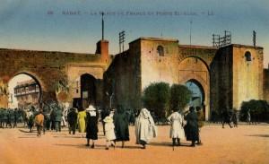 Rabat place de France et Port –El Alou